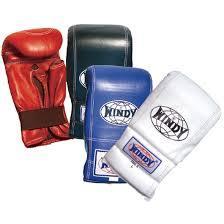 キックボクシンググローブのゴムタイプ